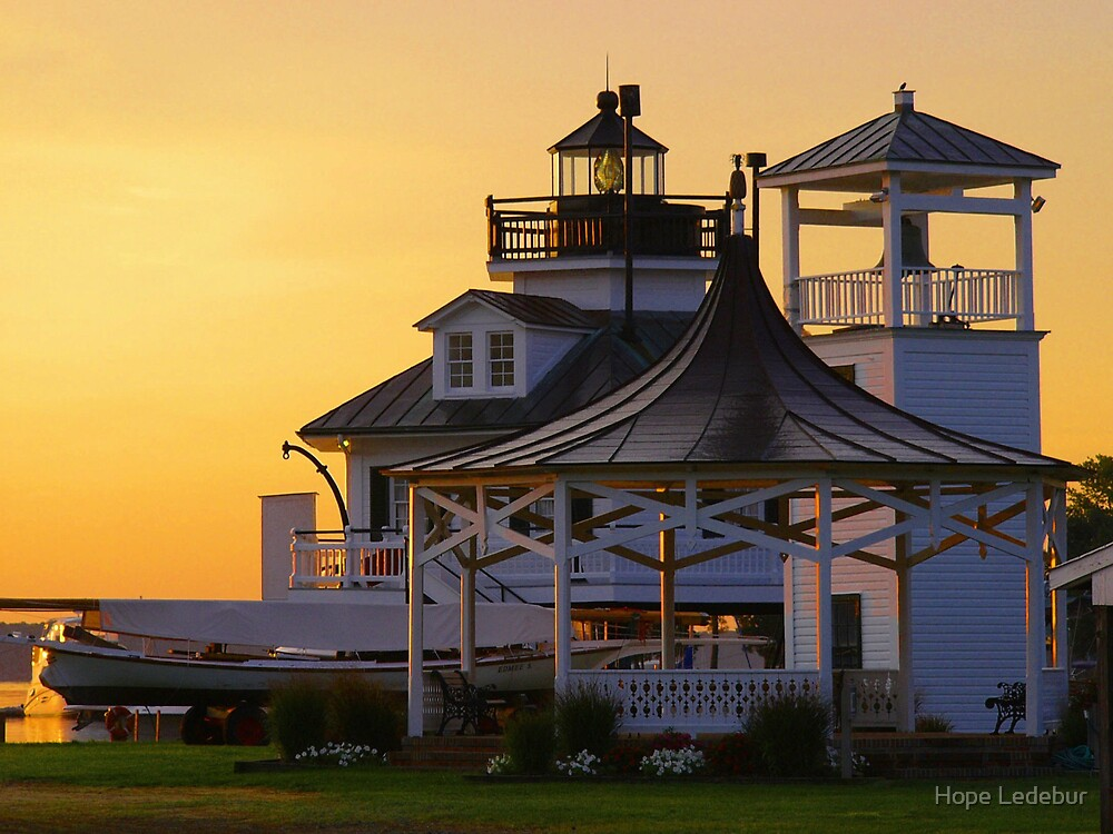 Sunrise at Navy Point by Hope Ledebur