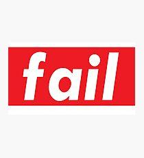 Fail Words Millennials Use   Photographic Print