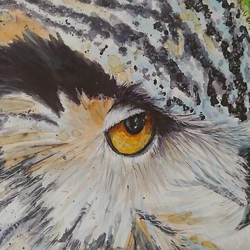 Great Horned Owl  by GlennArt