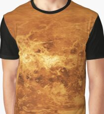 Map of Planet Venus -8K Graphic T-Shirt