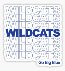 wildcats thank you bag Sticker