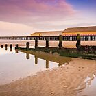 Reflections by the pier by JEZ22