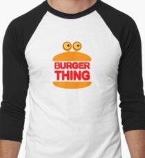 Burger Thing Men's Baseball ¾ T-Shirt