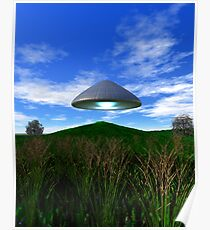 Cone Shaped Saucer Poster