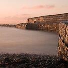 April sunrise, Lyme Regis by John Burtoft