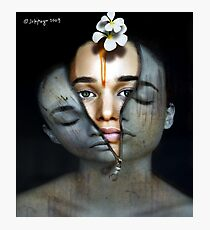 what lies beneath Photographic Print