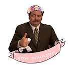 Ron Swanson by megsmillie