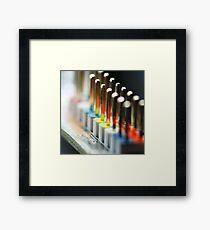 On reflection... Framed Print