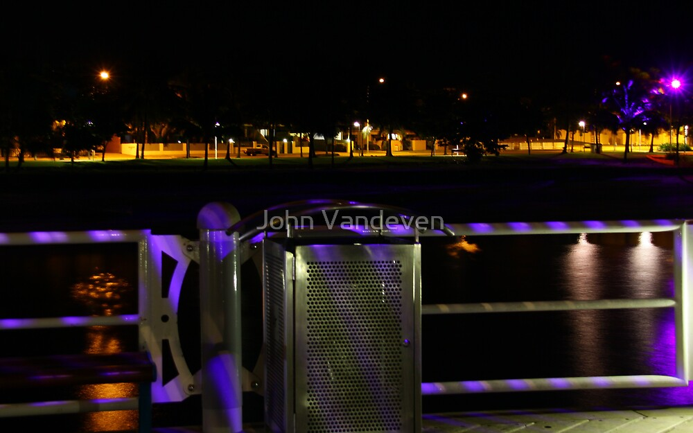 Townsville at Night 3 by John Vandeven