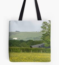 Across to Okeford Hill, Dorset Tote Bag