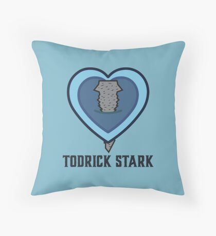 Todrick Stark Throw Pillow