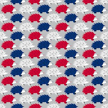 Patriotic Hedgehogs by robyriker