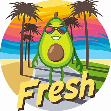 Fresh Avocado Emoji by joypixels