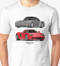 Supercar Evolution (silver & red) Unisex T-Shirt