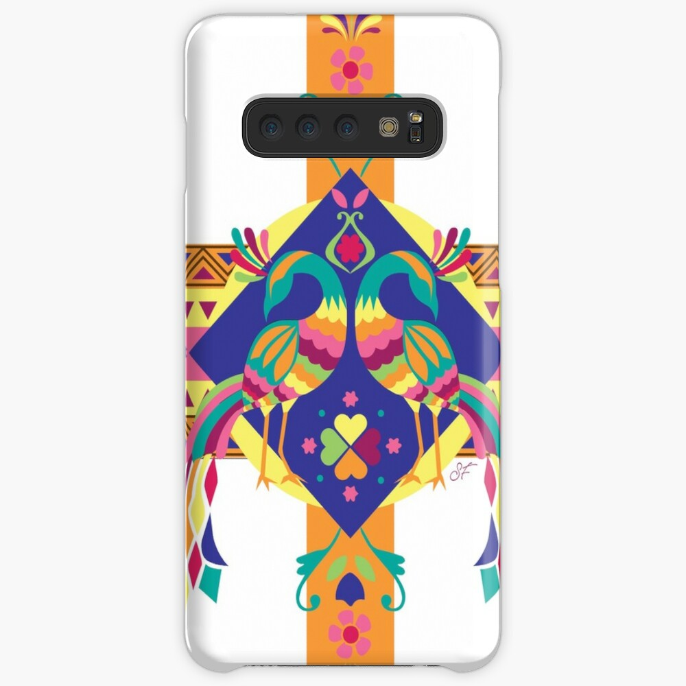 Peacocks Funda y vinilo para Samsung Galaxy