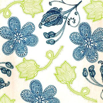 Beautiful Blue Flowers for your Fashion Enjoyment by ExpressingSelf