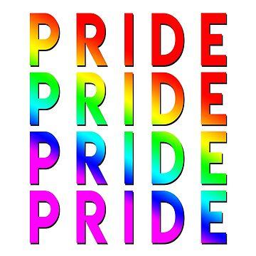 Pride Pattern Pride Month  by snorkle