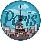 Paris Sticker by pda1986
