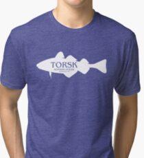 2014 Torsk Gear WHITE Tri-blend T-Shirt