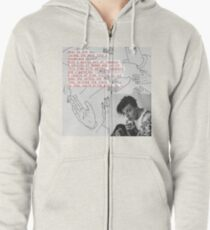 i love you,, will you marry me  Zipped Hoodie