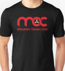 Red and White Logo Unisex T-Shirt
