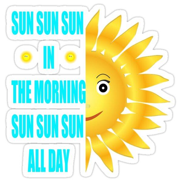 Sun all day