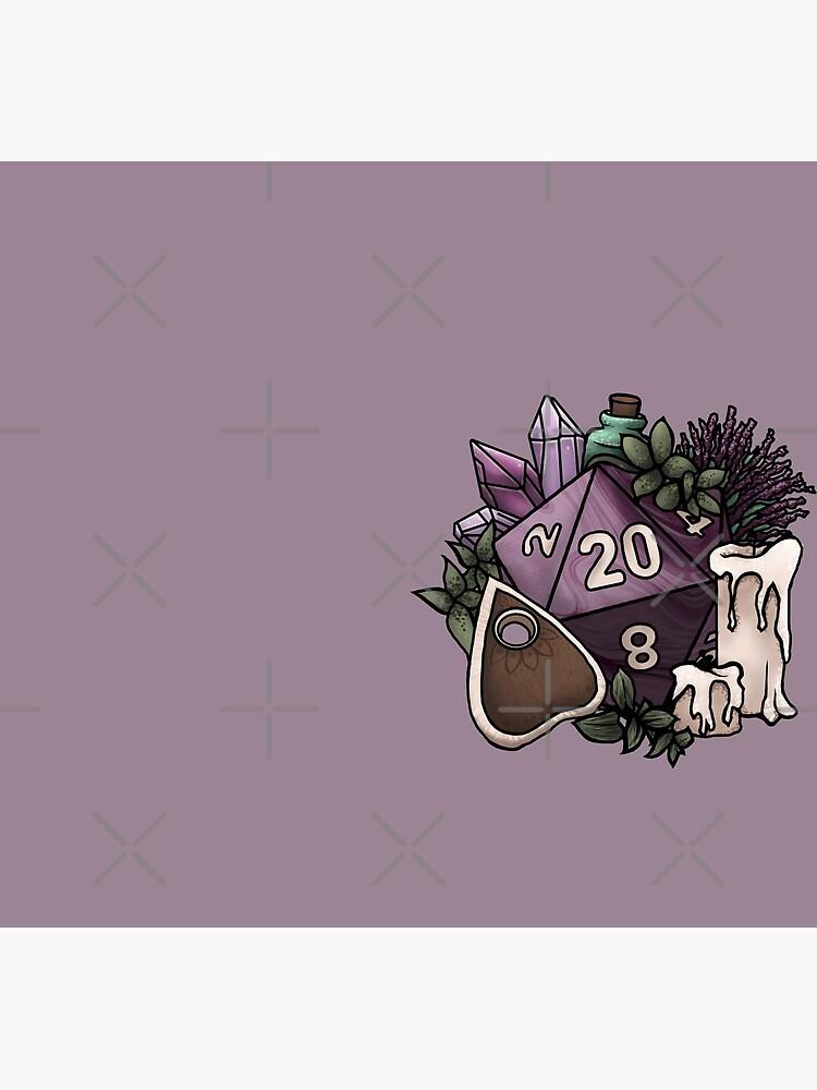 Witchy D20 Tabletop RPG Spiel Würfel von SweetDelilahs