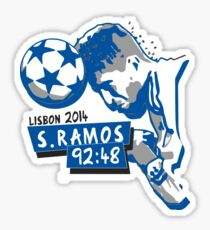 Sergio Ramos - Minuto 92:48 Sticker