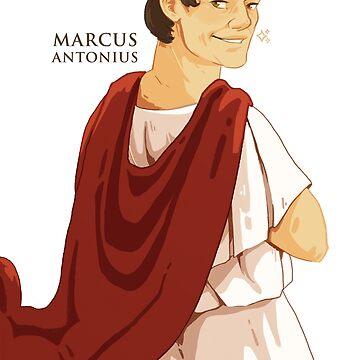 Mark Antony Pin Up by flaroh