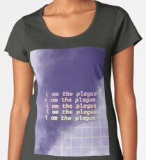 i am the plague- violet Women's Premium T-Shirt