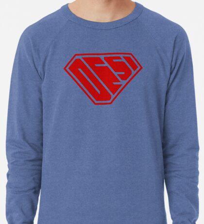 Desi SuperEmpowered (Red) Lightweight Sweatshirt