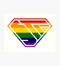 STPC SuperEmpowered (Rainbow) Art Print