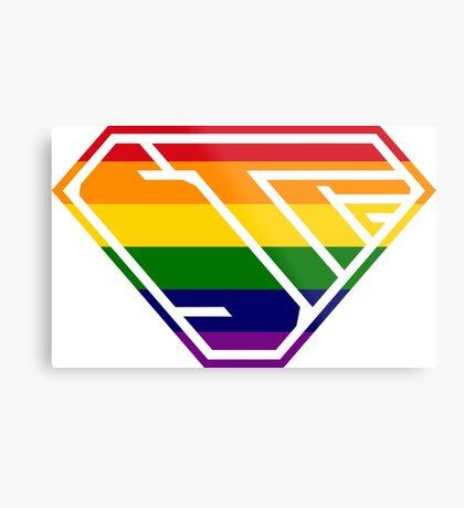 STPC SuperEmpowered (Rainbow) Metal Print
