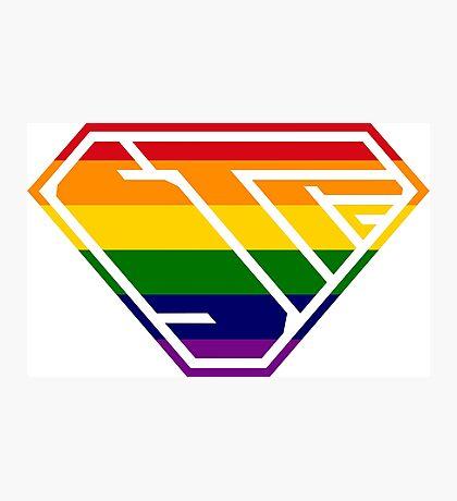 STPC SuperEmpowered (Rainbow) Photographic Print