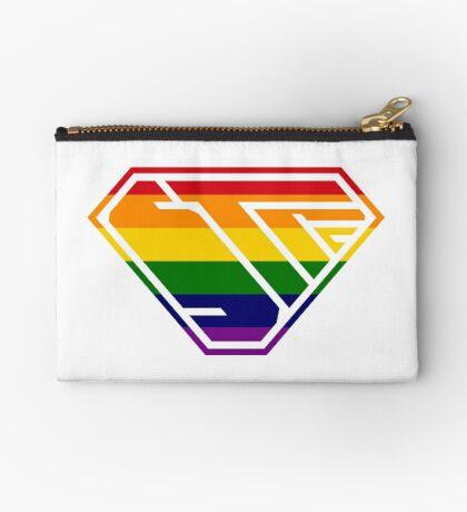 STPC SuperEmpowered (Rainbow) Zipper Pouch