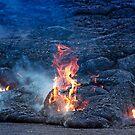Kilauea Volcano Lava Flow. 5 by Alex Preiss