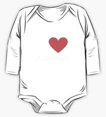 I Love  Elizabeth - Gift for Proud New Jerseyan From  Elizabeth New Jersey NJ  One Piece - Long Sleeve
