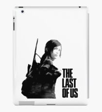 Ellie in the last of us iPad Case/Skin