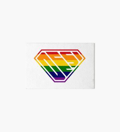 Desi SuperEmpowered (Rainbow) Art Board Print
