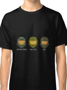 Halo - Spartans never die. Classic T-Shirt