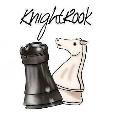 KnightRook Cartoon Design by killkillian