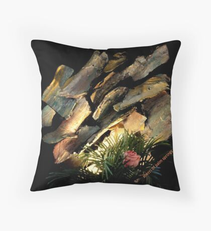 WOODSIE MAKES A COMEBACK Throw Pillow