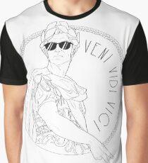 Camiseta gráfica Veni Vidi Vici