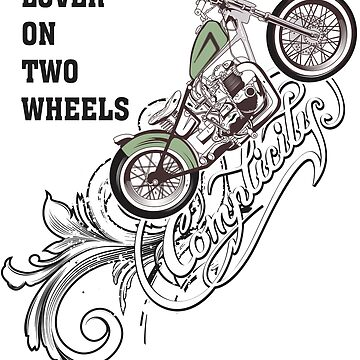 Shirts Lover on two wheels by albertosm