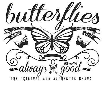 Shirts Butterflies by albertosm