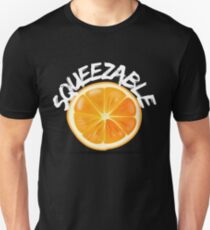 Squeezable Orange Summer Fruit Unisex T-Shirt