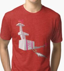 That's the tower of love! Tri-blend T-Shirt