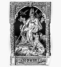 ODIN 1901 by Johannes Gehrts Poster