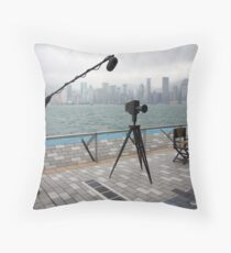 Avenue of the Stars, Hongkong Harbor. Throw Pillow