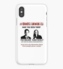 FBI most unwanted iPhone Case